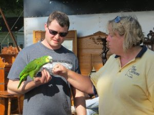 Polly Was Very Friendly!