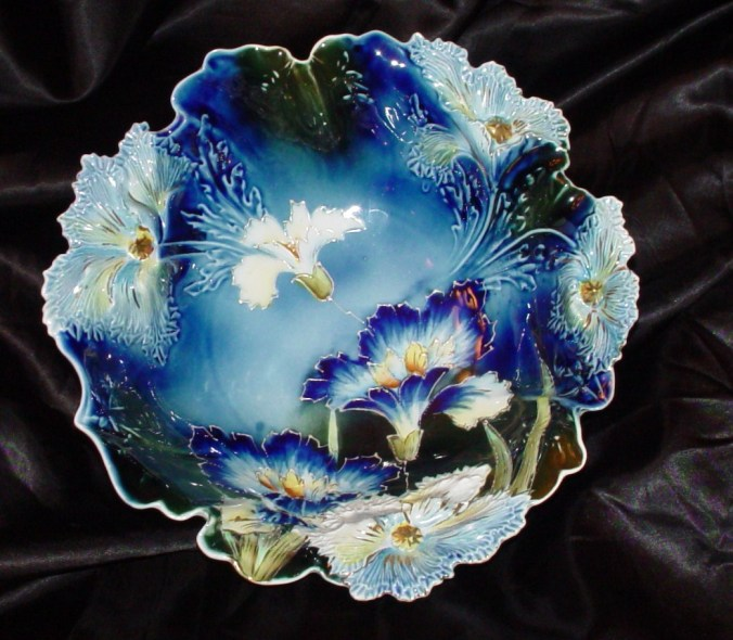 antique rs cobalt bowl