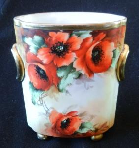 Limoges Poppy Cache Box