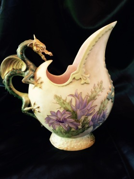 2015 Dragon Handled Ewer
